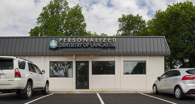 Exterior of Personalized Dentistry of Lancaster's suite on Keller Avenue
